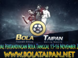 JADWAL PERTANDINGAN BOLA 15-16 NOVEMBER 2019
